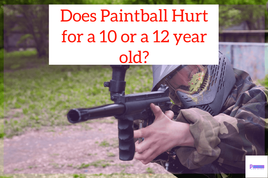 Does Paintball Hurt for a 10 or a 12 year old