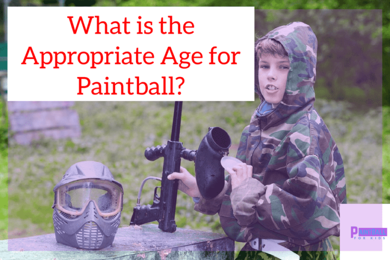 What is the Appropriate Age for Paintball?