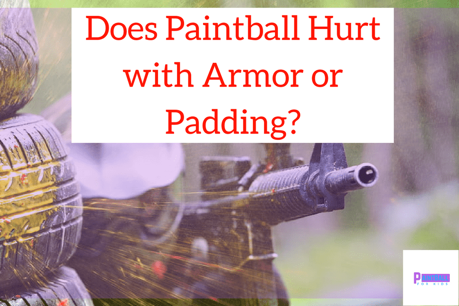 Does Paintball Hurt with Armor or Padding